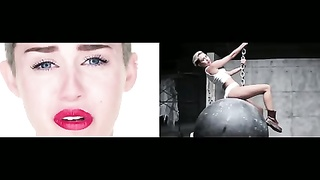161270Miley Cyrus - Wrecking Ball dull Directors chop vs original