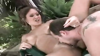 Asia Carrera getting some outdoors fuck-stick