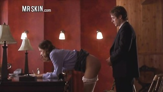 Nude secretaries appreciate to get torn up at the office!