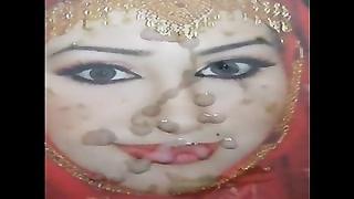 165301Gman cum on tiring face of a Pakistani slut in Hijab (tribute)