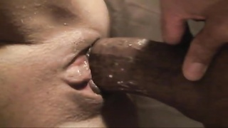 fuckin' moist cunny up shut with large rod and cum shot