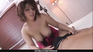 Yukari best Japanese deep throating stiffy hookup master