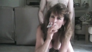 steamy Mom milf rear end  Style Smoking hook-up