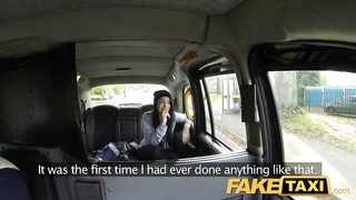 FakeTaxi youthfull  teen wants moment helpings