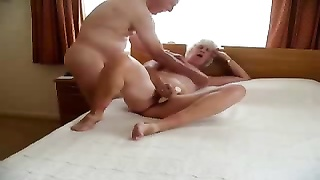 Stolen video of my horny ancient mum with daddy