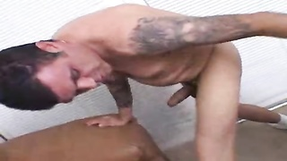 youthful Cherry eats his pecker and asscrack