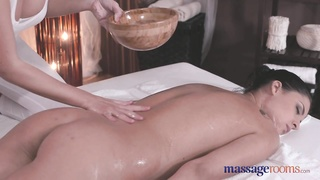 massage Rooms remarkable  yellow-haired in sapphic  romp