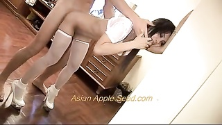 oriental hoe plowed in Bathroom!