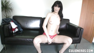lean girl comes in for a casting