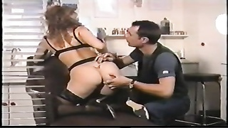 astonishing female gets her ideal  booty tattooed and pumelled