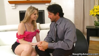 deep throating her old college roommate's hubby
