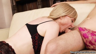 Nina Hartley having sex with her son's acquaintance