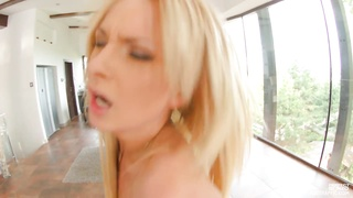 Euro female Ivana Sugar gets her arse pounded