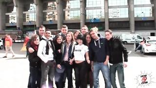 LECHE 69 Barcelona vs Madrid public hook-up