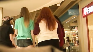 youthfull  cute teen in concise cut-offs  (Graz 3)