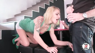 LECHE 69 Tatto perky blonde loves anal invasion hookup