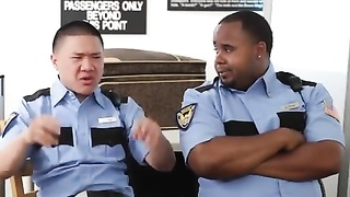 Security check at airport (FUNNY)