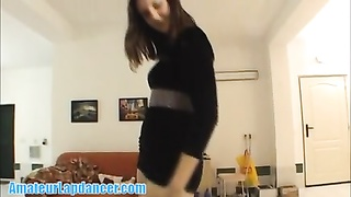 194142Striptease and lapdance by adorable  18yo czech student