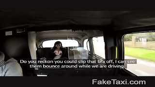 FakeTaxi - vast big knockers on fantastic young escort