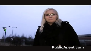PublicAgent expressionless - Outdoor plumbing with yellow-haired