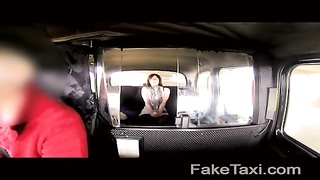 FakeTaxi - naughty daddies girl likes  the hard-on