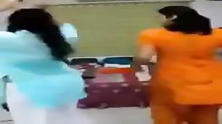 splendid Dance of Indian women