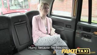 FakeTaxi horny customer calls taxi feign