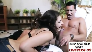 Euro honey  gets torn up in her tight denims