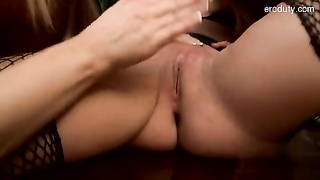large melons housewife oral job