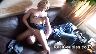 blonde mummy  screwed hard by hubby