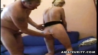 A very scorching blonde amateur German girlfriend homemade xxx  action with oral job, fuck and cum s