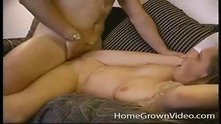 adorable  yellow-haired inexperienced gets her clean-shaved  beaver packed
