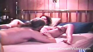 stroking wife gets her slit gobbled out