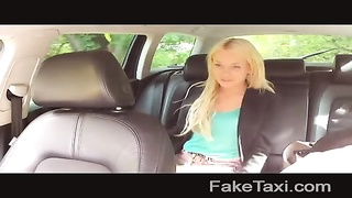 FakeTaxi - blonde sucks manstick to effect flight