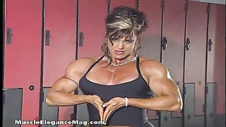 Carla Haug three - woman Bodybuilder