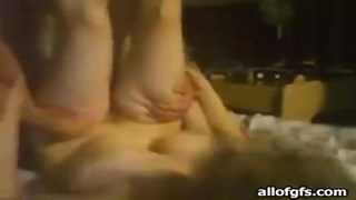 girlfriend on her abet banged by the man