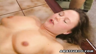 2 super hot inexperienced faded housewives homemade three-way xxx  action with pussy toying, blowage