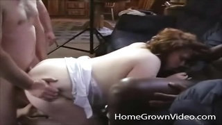 paunchy waving hoe nailed in a scorching group sex