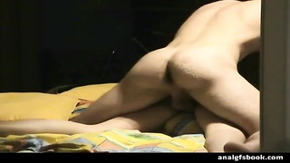 lovely 18year ancient inexperienced gets a large dick up her arse for the salubrious time