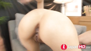 JAPAN HD Double creampie ejaculating and orgasms from Japan