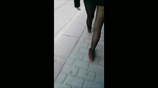 Turkish ladies with gorgeous stockings compilation