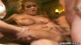Trina Michaels And Audrey Hollander Group hook-up