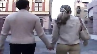 lovely Russian teen invites a stranger to penetrate her