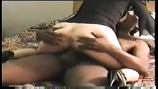 wifey  in hotel room enjoys it large and black