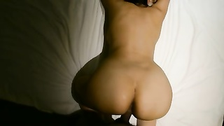 Bangla desi well-off wife with a buddy in hotel room corpulent HD