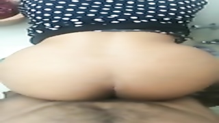 Cheating desi wifey  banged from bottom