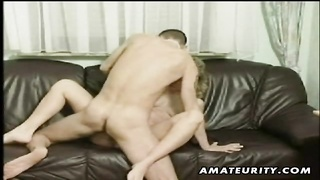 A steamy blondy pregnant inexperienced housewife homemade hardcore act with warm oral pleasure, vagi