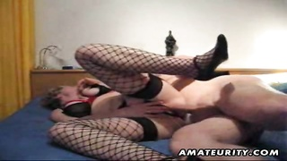 A naughty frail amateur housewife homemade hardcore action with doggystyle fuckin' monotonous!