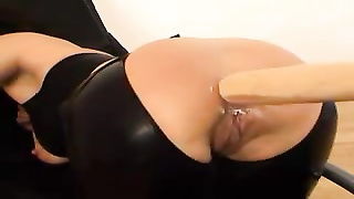 Bat and knuckle  up her inexperienced ass hole