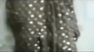 knockers poking  candy Aunty in Saree